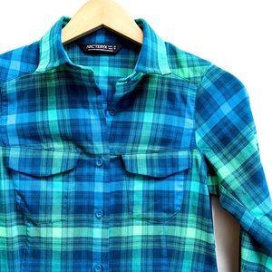 Arc'teryx flannel shirt